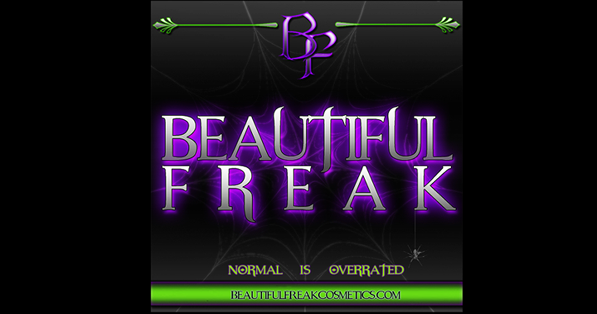 Beautiful Freak Cosmetics - Normal Is Overrated