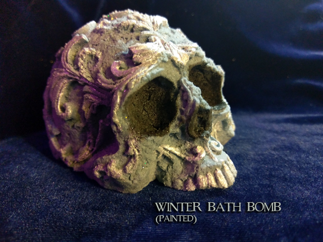 Winter - Bath Bomb (Painted)